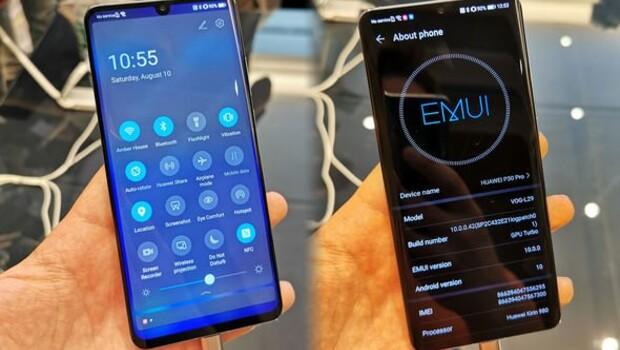 Huawei telefonların yeni işletim sistemi EMUI 10 nasıl görünüyor?