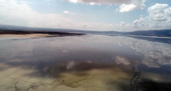 Tuzla Gölü turist bekliyor