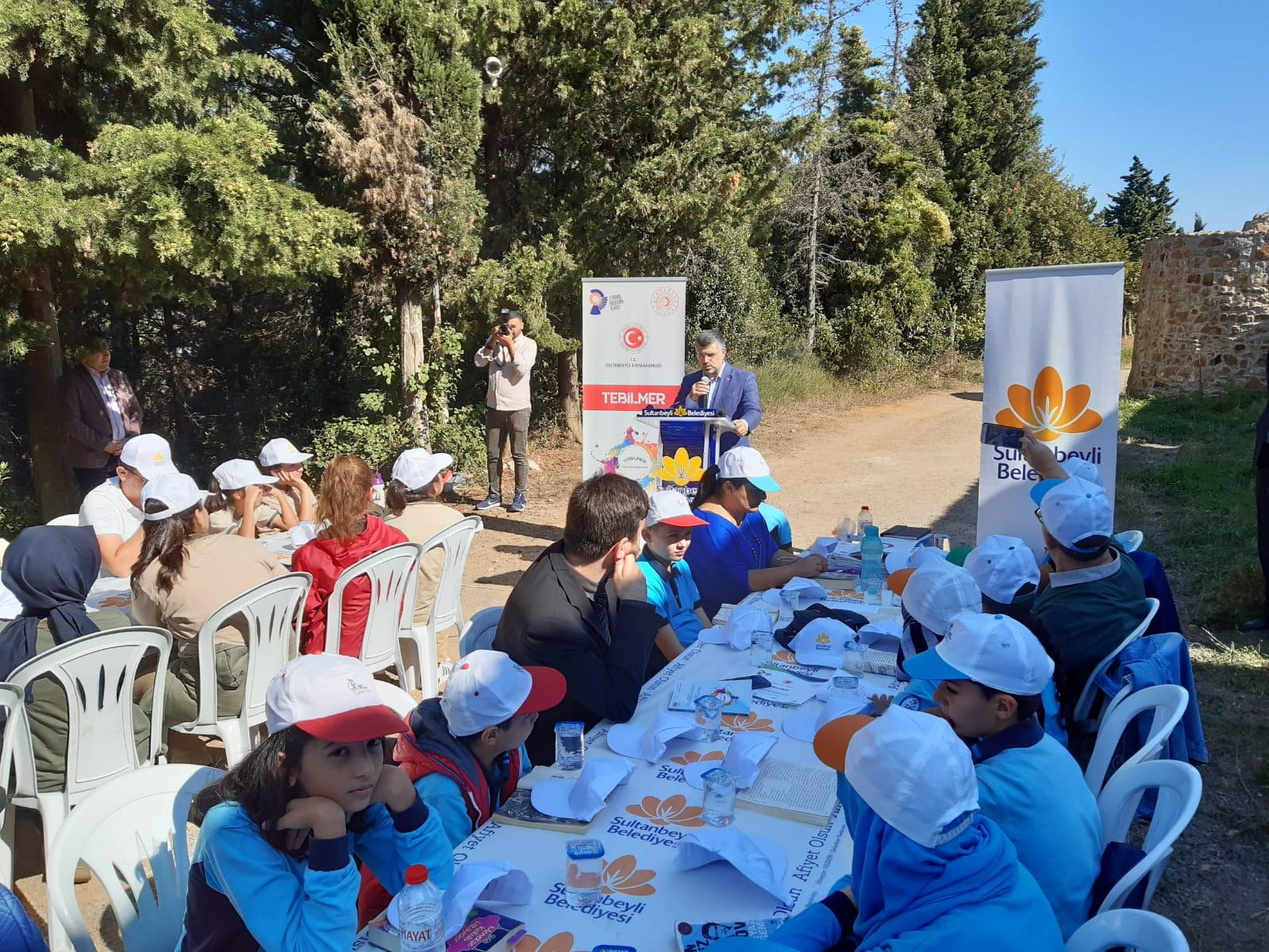 Aydos'ta Kitap Okuma Etkinliğine Yoğun Katılım