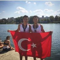 Balkan Kürek Şampiyonası'nda dereceler