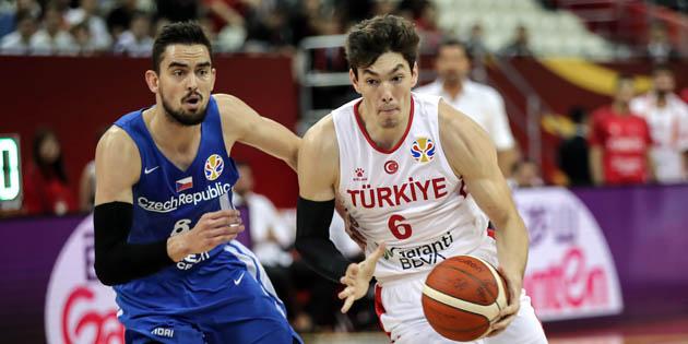 FIBA 2019 Dünya Kupası'nda Çekya'ya Mağlup Olduk