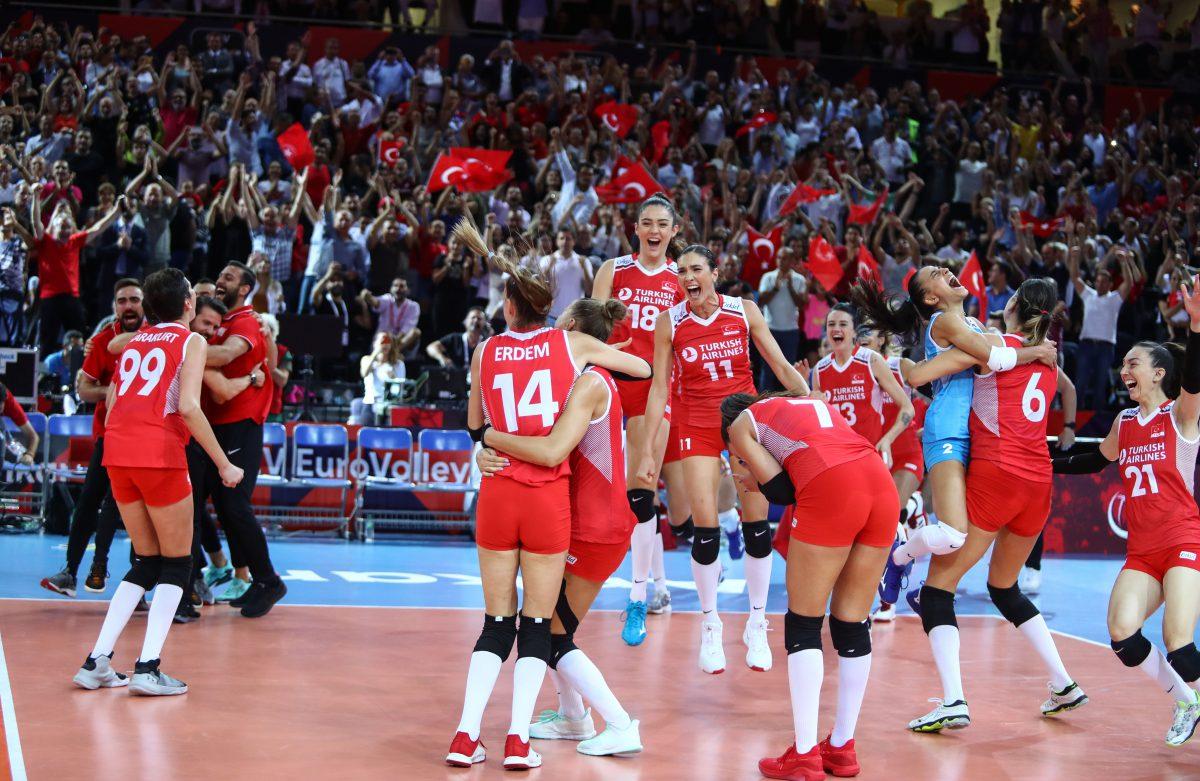 Filenin Sultanları, Avrupa Şampiyonası'nda Finalde !