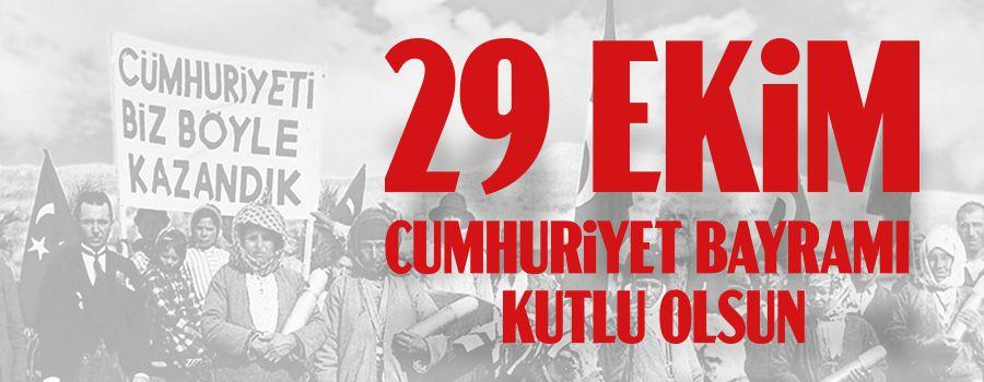 """""""Cumhuriyetimizi Yücelten İrade, Birliğimiz ve Beraberliğimizdir"""""""