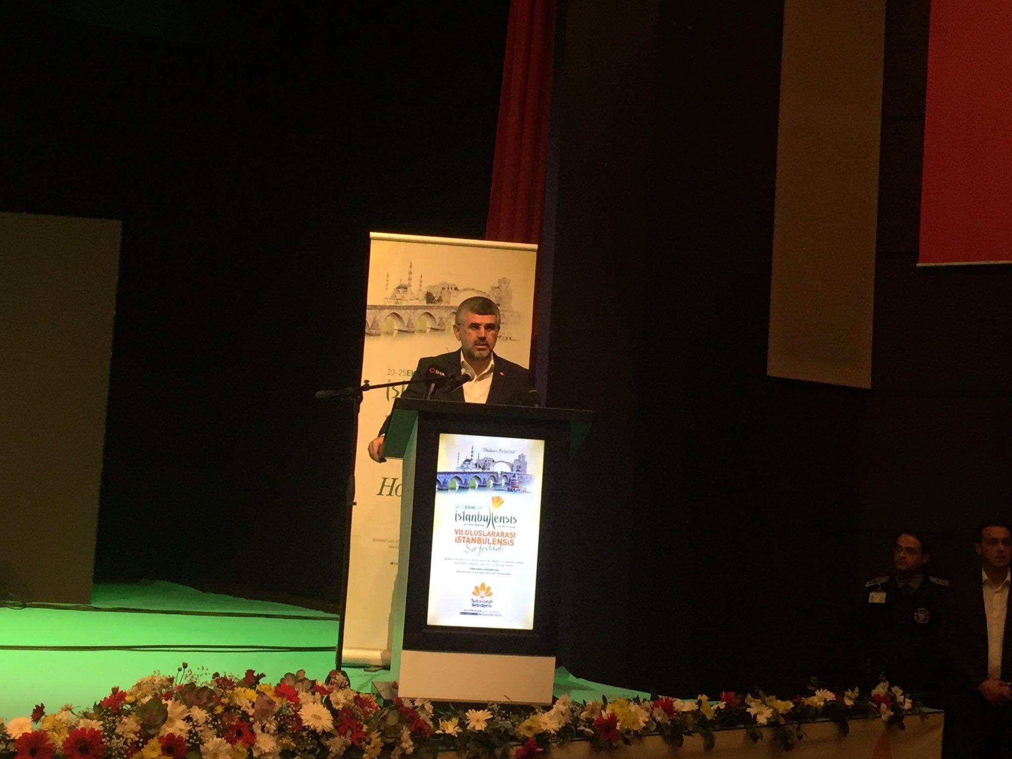 7. Uluslararası İstanbulensis Şiir Festivali Sultanbeyli'de Başladı