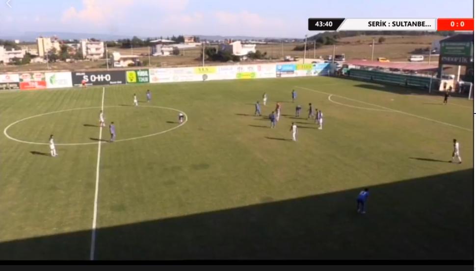 Serikspor 2-1 Sultanbeyli Belediyespor