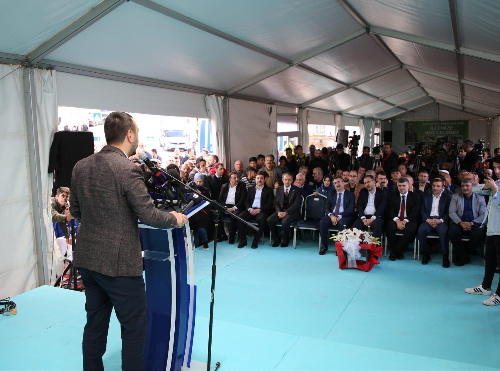 Sultanbeyli Aşık Veysel Parkı Açıldı