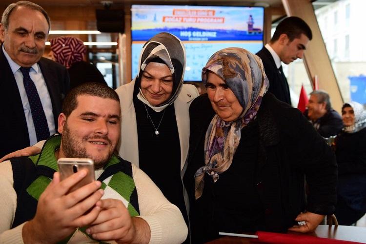 Sancaktepe Belediyesi, Engelli Vatandaşlara Boğaz Turu Yaptırdı