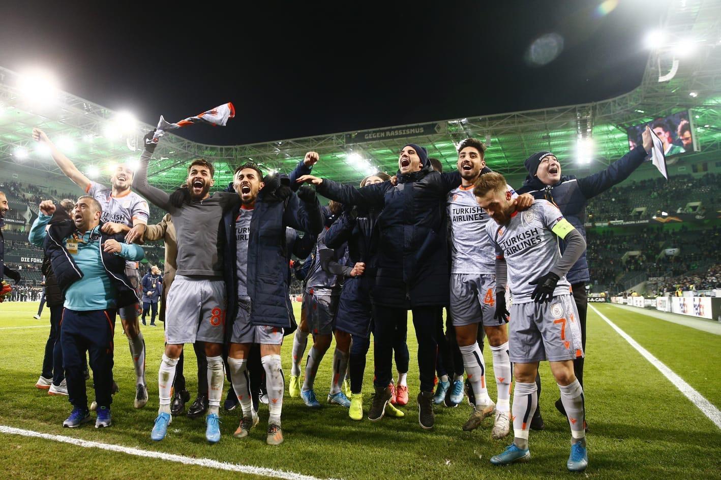Başakşehir'den Avrupa'da 8. galibiyet
