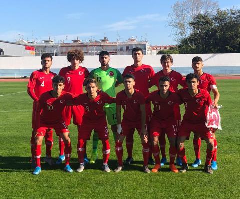 U18 Milli Takımı, İspanya ile 1-1 berabere kaldı