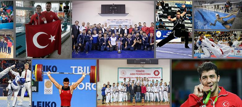 İSTANBUL'LU SPORCULAR 2019'U BİN 553 MADALYA İLE TAMAMLADI!