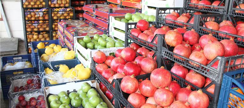 İstanbul'a Gelen Meyve Sebze Oranlarındaki Değişiklikler