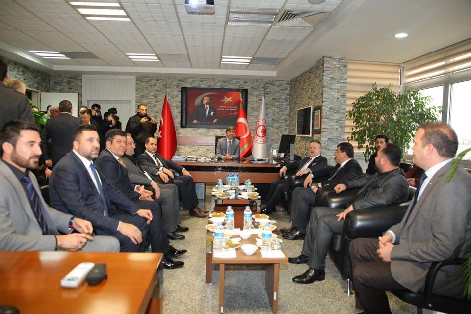 TİM ve DAİB Başkanından Şırnak ASKON'a ziyaret