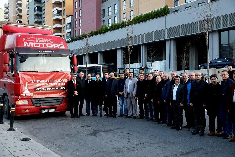 Sancaktepe Belediyesinden Elazığ'a yardım kampanyası
