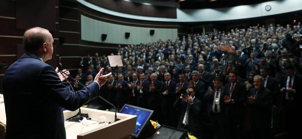 Erdoğan, Kardeş Belediyeler Toplantısı'nda konuştu