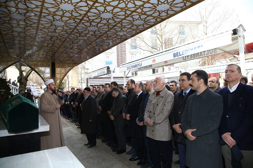 İBB Daire Başkanı Dr. Ayhan Koç'un Ağabeyi Son Yolculuğuna Uğurlandı