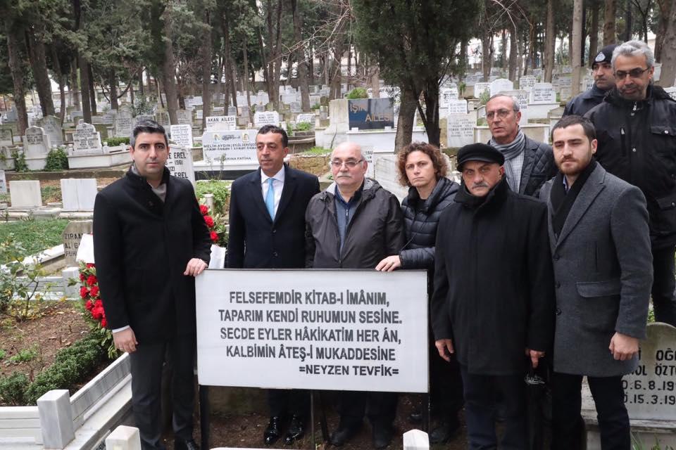 Neyzen Tevfik Ölümünün 67. Yılında Kartal'da Anıldı
