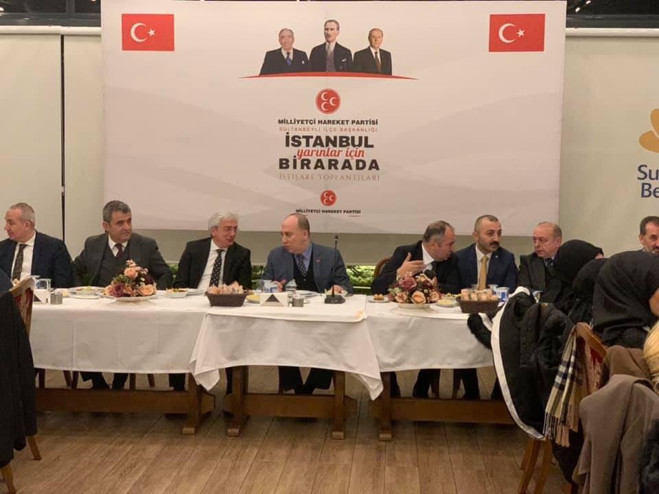 MHP Genel Başkan Yardımcısı Sultanbeyli'de Tapu Meselesiyle İlgili Konuştu
