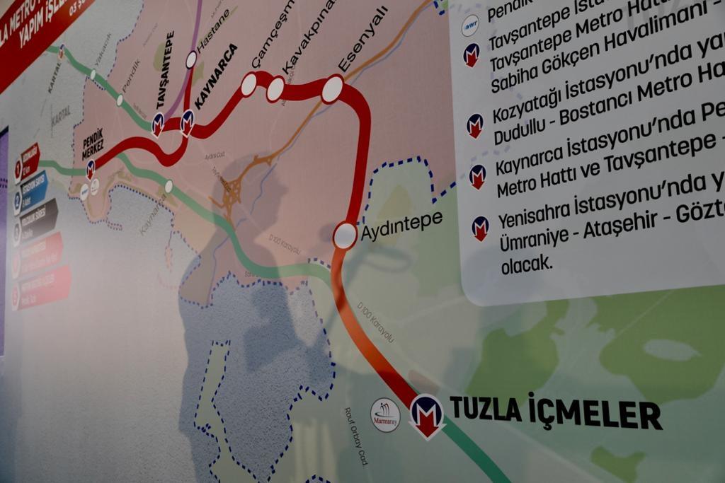 """""""Kaynarca-Pendik-Tuzla Metrosu""""nda Çalışma Yeniden Başladı"""