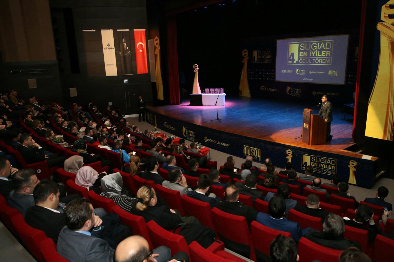 Başkan Keskin SUGİAD'ın Ödül Törenine Katıldı