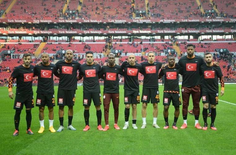 Galatasaray Şehitleri Unutmadı