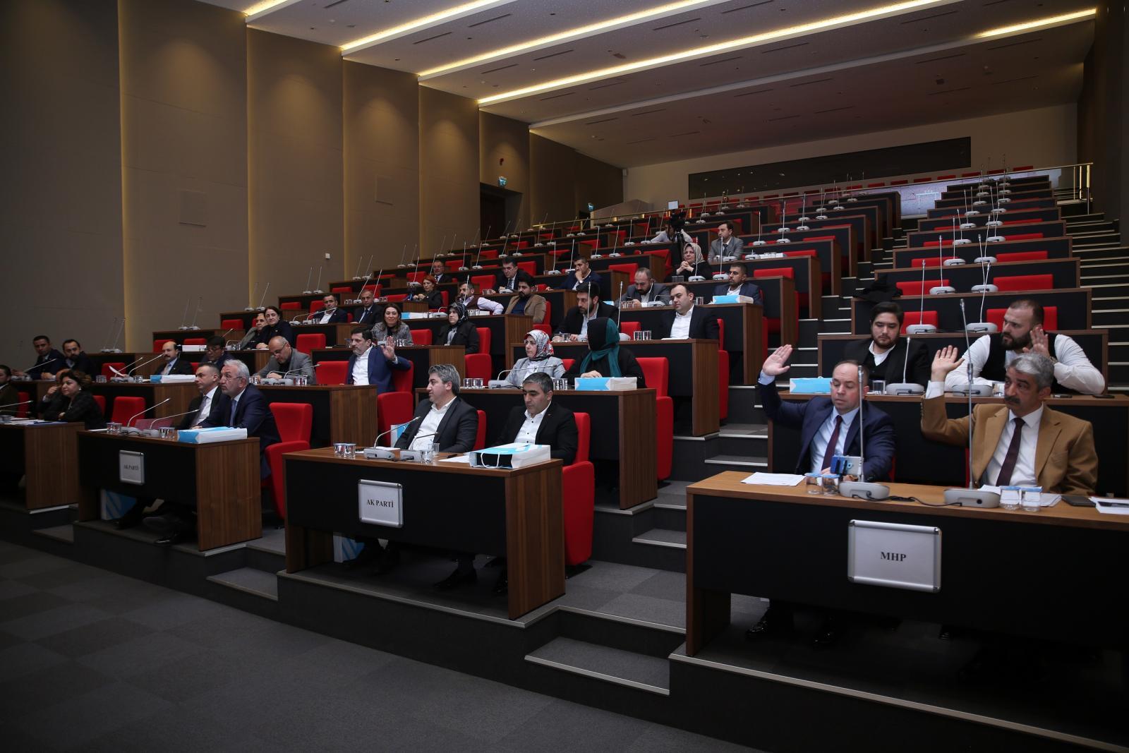 Ümraniye Belediye Meclisi'nden Mehmetçiğe Destek