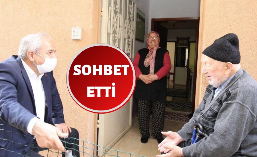 Gebze'de Başkan, Büyüklerin Hayır Duasını Aldı