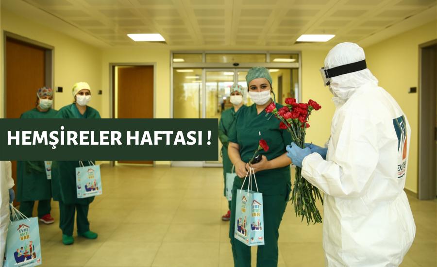 Çekmeköy'de Hemşireler Haftası Kutlandı