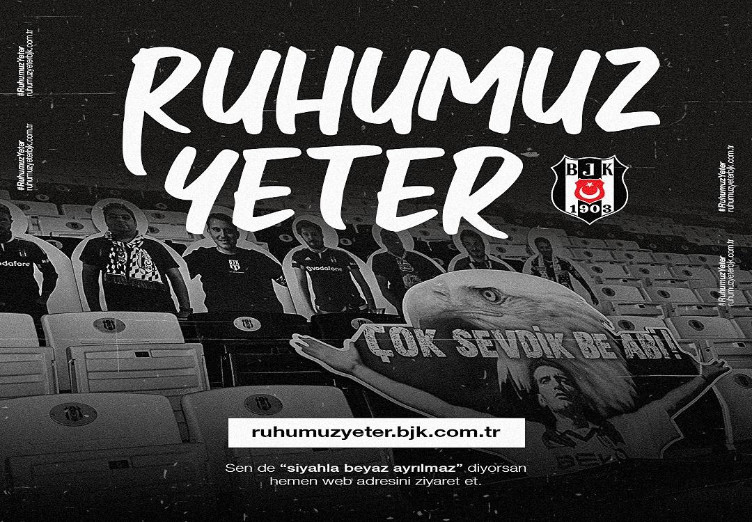 Beşiktaş Jimnastik Kulübü'nden Taraftar Maketi Projesi
