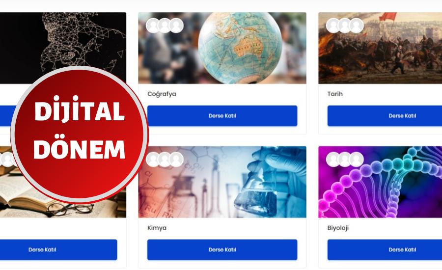 Sultanbeyli'de Dijital Programla Eğitim Aksamıyor