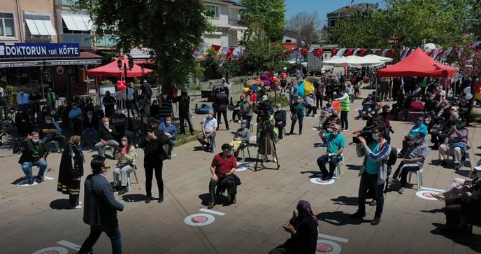 Türkiye'nin İlk Sosyal Mesafeli Etkinliği