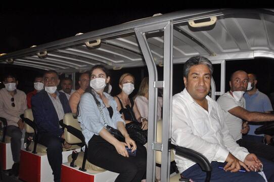 Gazeteciler Türkiye'nin İlk Doğa Dostu Millet Bahçesi'ni Gezdi