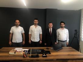Tombaş'tan İlkem Gazetesine Ziyaret