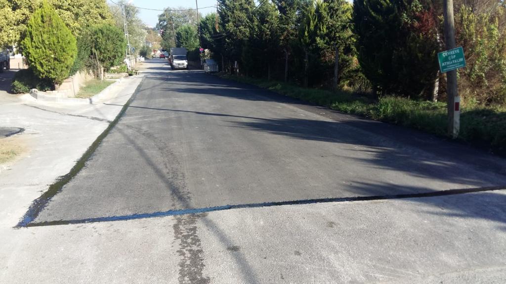 """""""Köyler Bölgesi"""" asfaltlanıyor"""