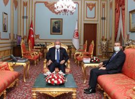 Başkan Ahmet Cin, Ankara'da bakanlarla görüştü