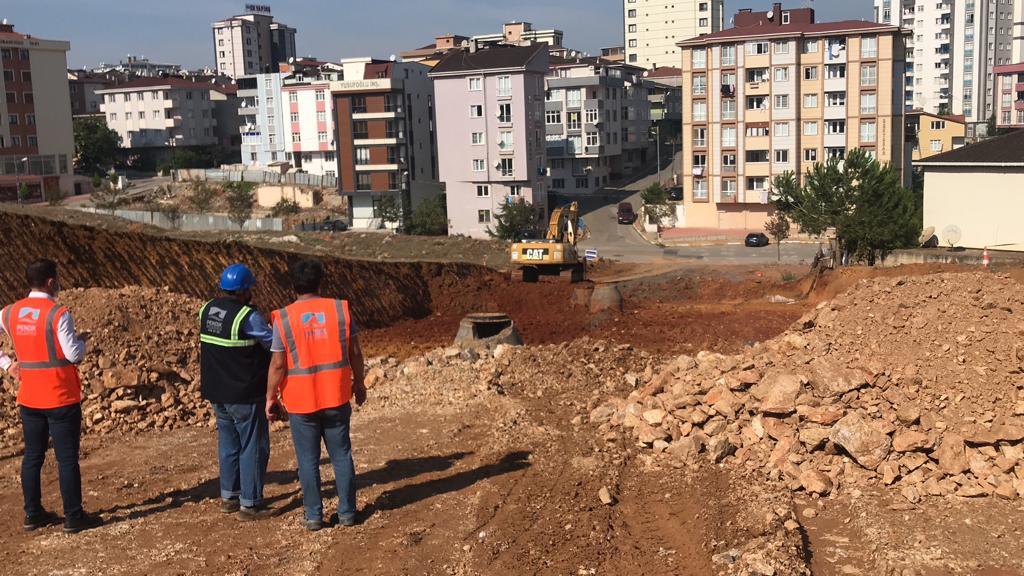 Ahmet Yesevi Mahallesi'nde hummalı çalışma