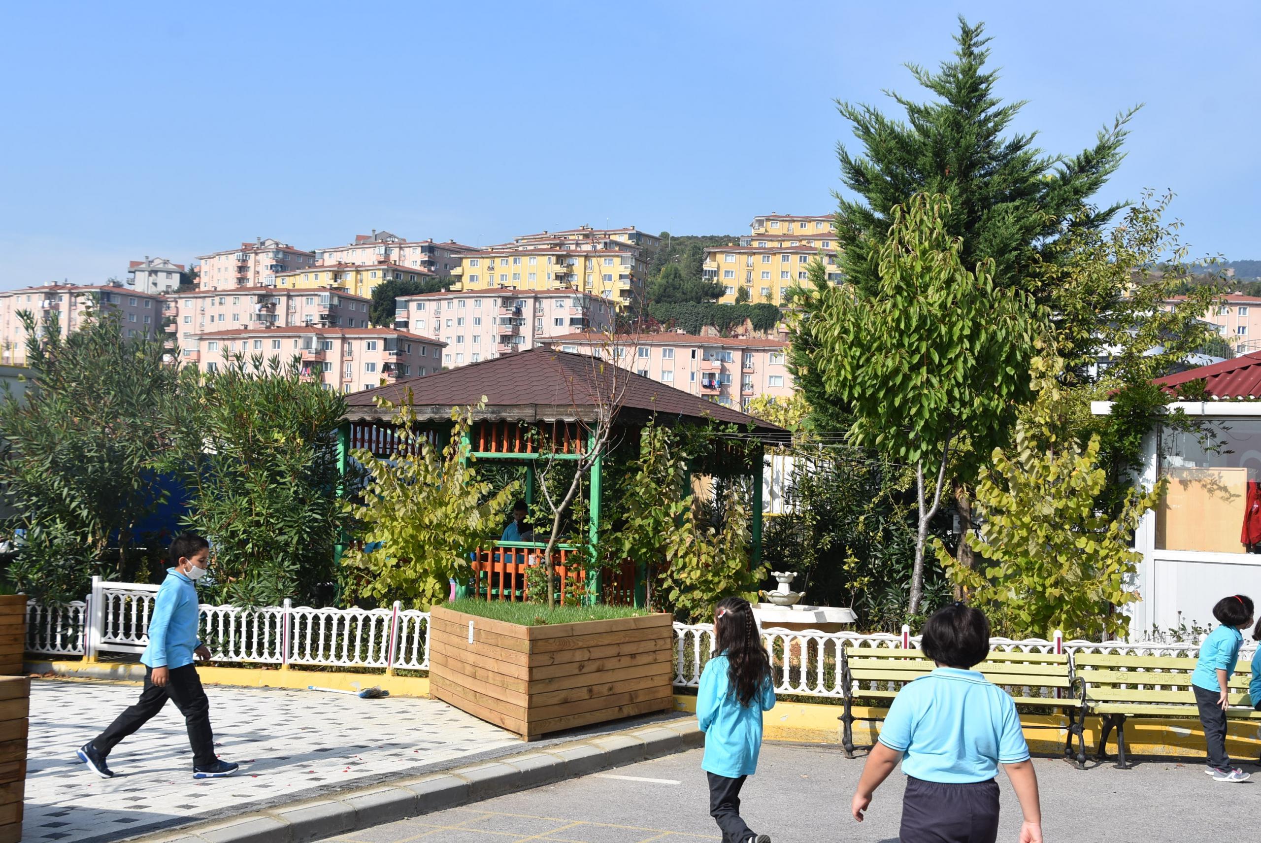 Okullara Meyve Ağacı Köşesi kuruluyor