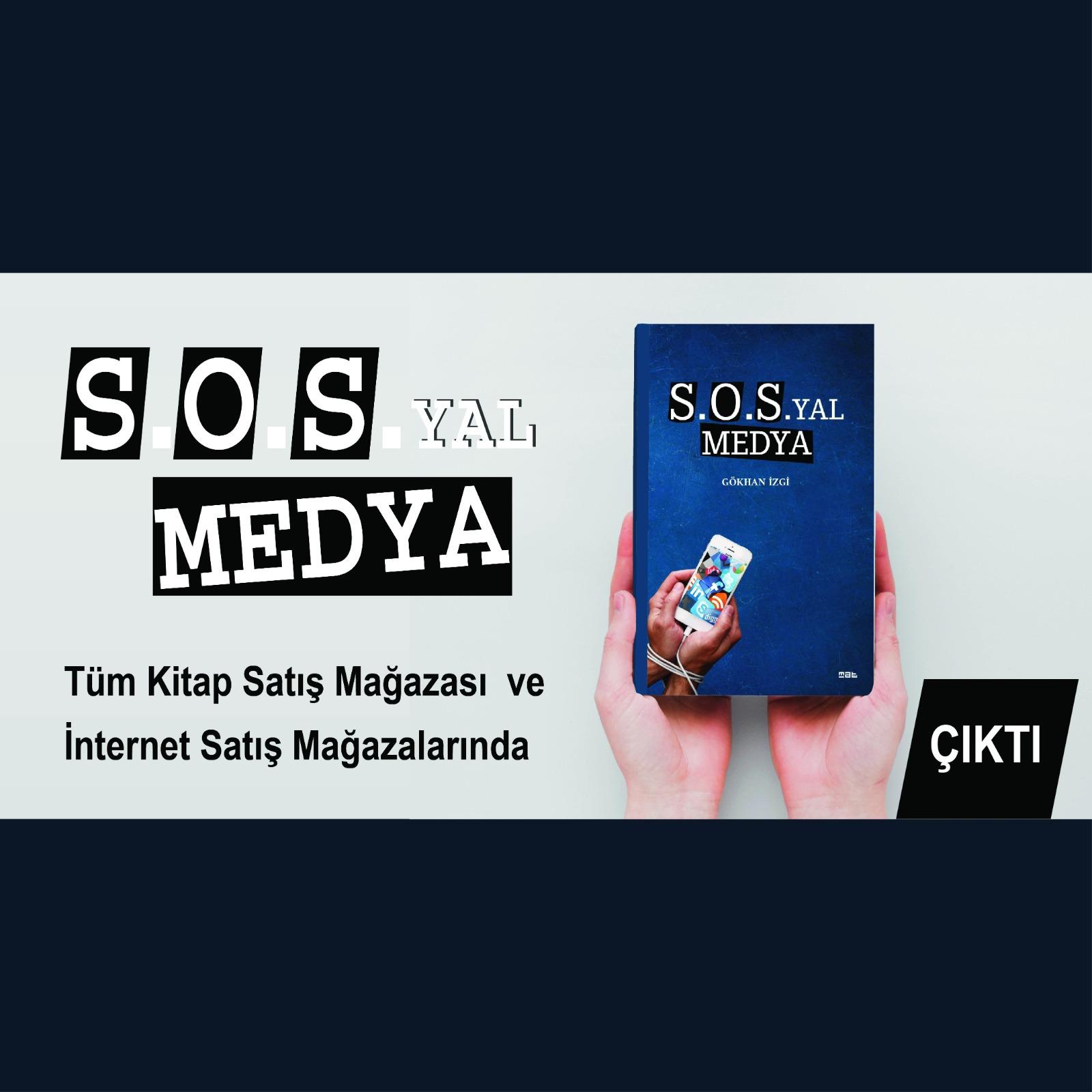 Gazeteci İzgi'nin İlk Kitabı Çıktı: S.O.SYAL Medya