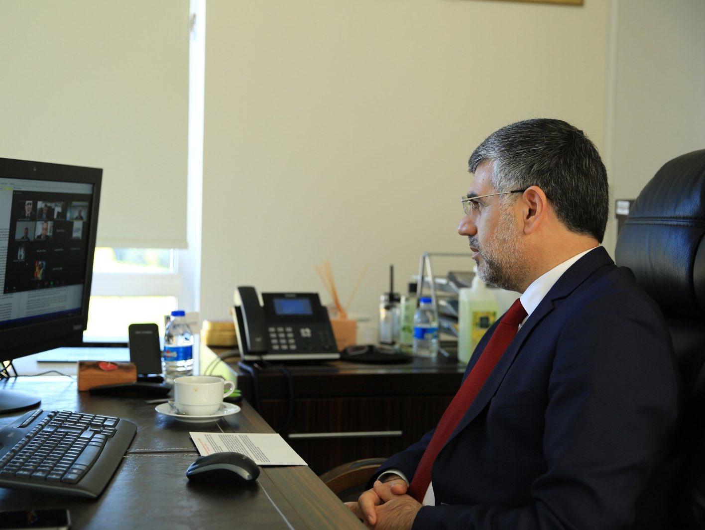 Başkan Keskin, Dayanıklı Kentler için Bütüncül Sosyal Hizmet Yönetişim Modeli Paneline Katıldı