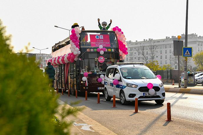Tuzla'da Engelliler Gününe Özel Konvoy