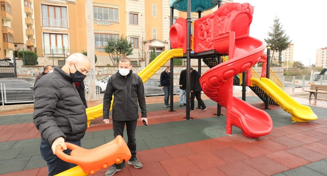 Büyükgöz talimat verdi; Gebze'de parklara yenileri ekleniyor