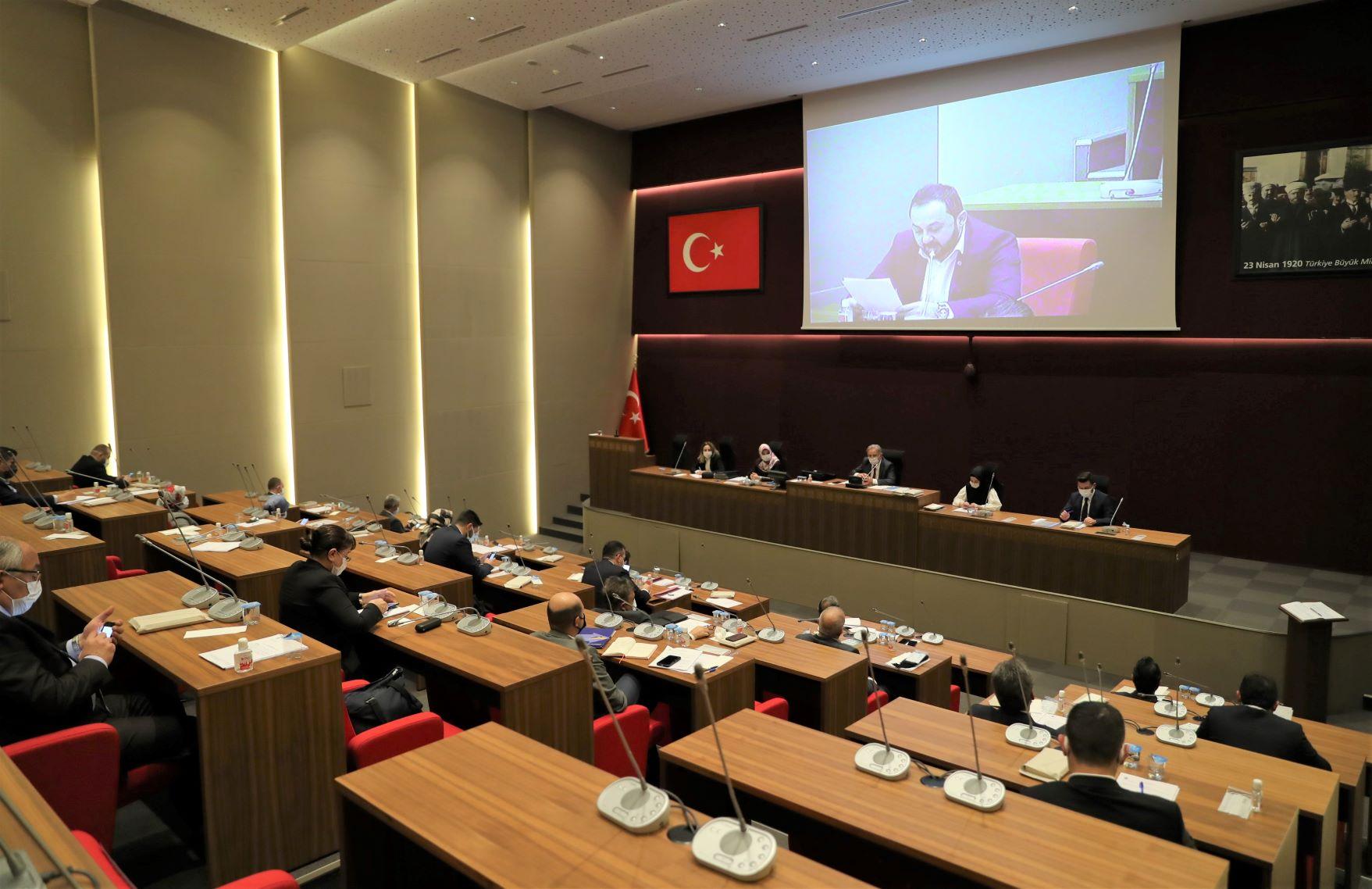 Ümraniye Belediye Meclisi Toplandı