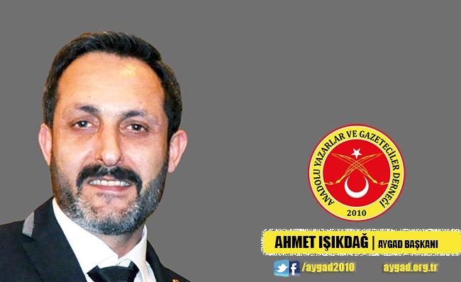 AYGAD Başkanı Işıkdağ: Gazeteciler Fedakarlık Gösteriyor