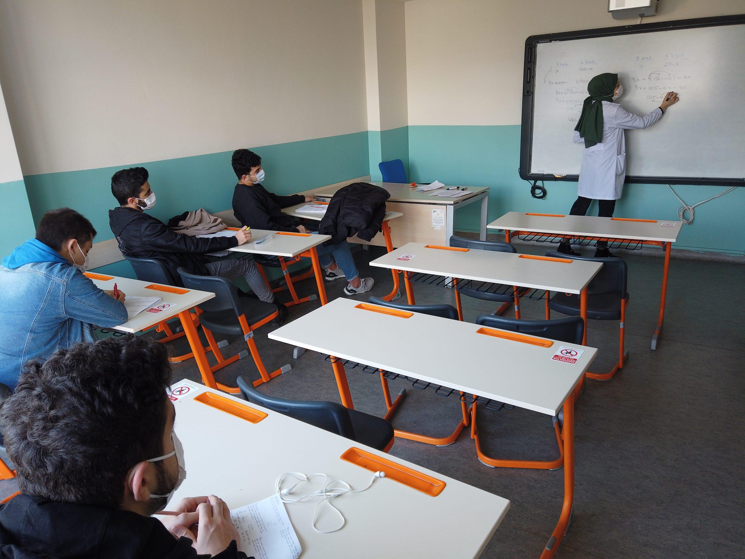 SUGEM'de Yüz Yüze Eğitim Başladı