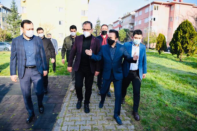 Bakan Kasapoğlu, Tuzla'daki Spor Yatırımlarını İnceledi