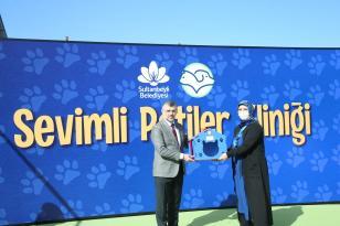 Sultanbeyli'de Sevimli Patiler Kliniği Açıldı