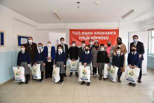 Tuzla'dan Ardahan'a 'Gönül Elleri' Köprüsü