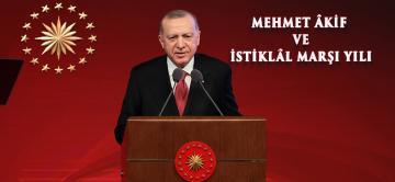 Mehmet Akif Ersoy'u Anma Programı'nda konuştu