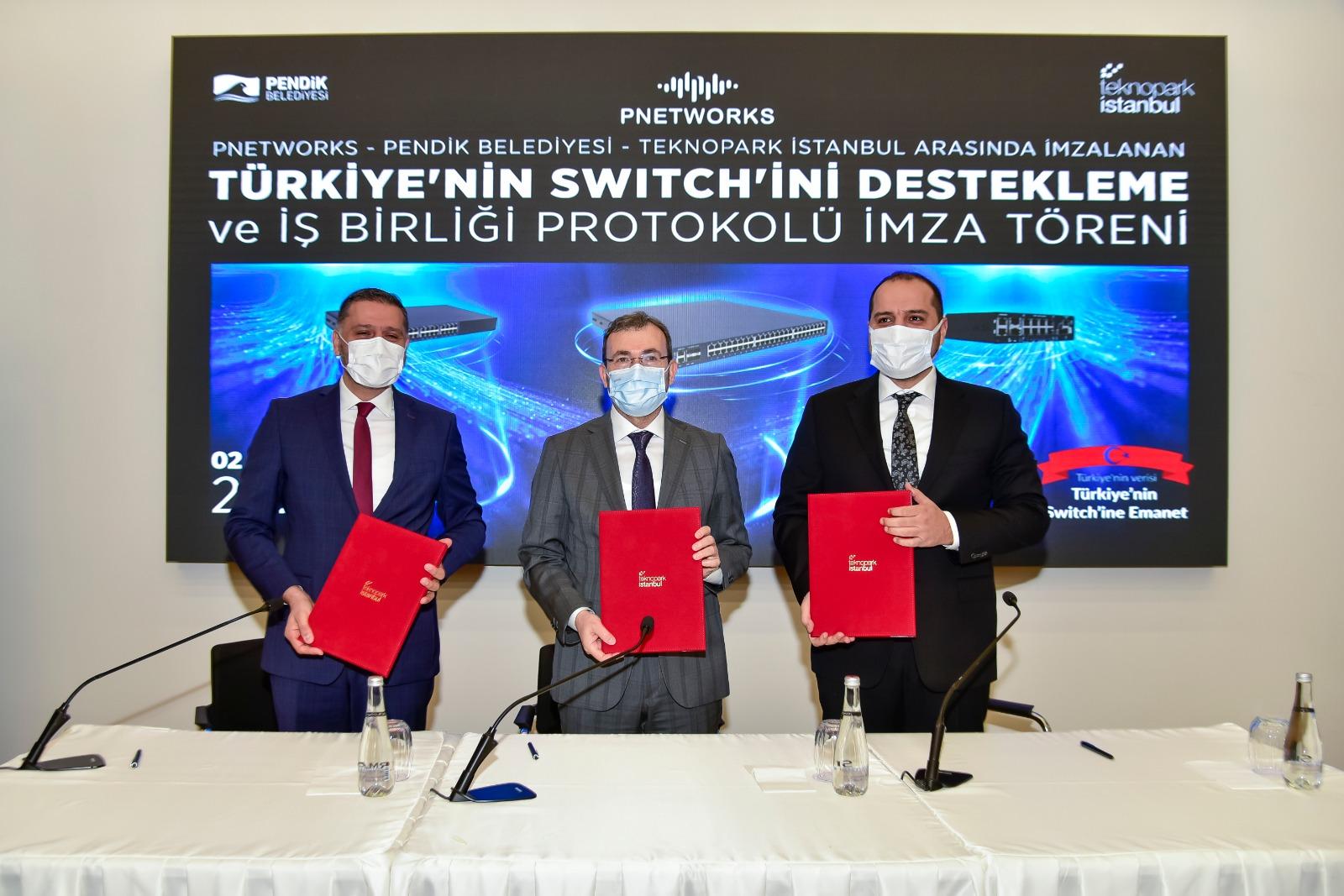 """Türkiye'nin ilk yerli """"ağ anahtarını"""" Pendik Belediyesi kullanıyor"""