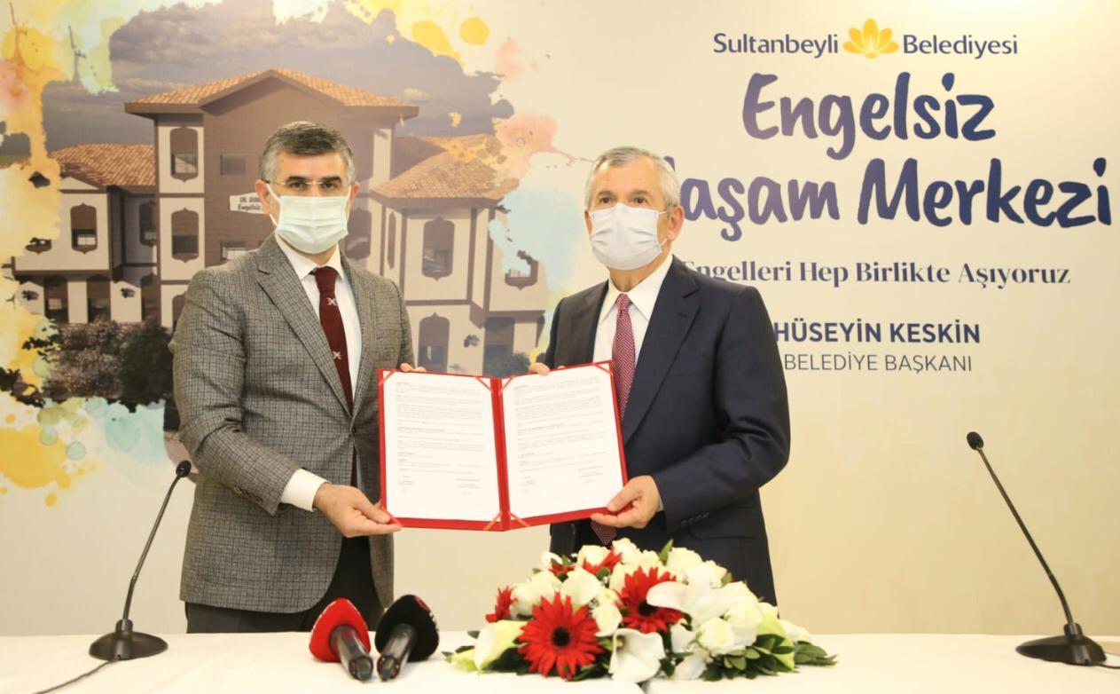 Engelsiz Yaşam Merkezi Projesi Sultanbeyli'de Hayata Geçiyor
