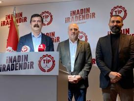 Ahmet Şık TİP'e katıldı